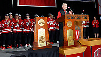 Wisconsin Badgers National Championship Celebration 3/25/19 - Hockey, Swimming, Track & Field