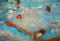 Action from the Hutt Secondary Schools Water Polo Club junior boys plate final between St Patrick's College Silverstream and Hutt International Boys School at Naenae Pool, Lower Hutt, New Zealand on Wednesday, 24 August 2016. Photo: Dave Lintott / lintottphoto.co.nz