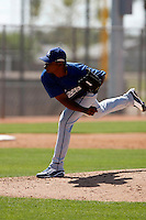 Daigoro Rondon  - Los Angeles Dodgers - 2009 spring training.Photo by:  Bill Mitchell/Four Seam Images