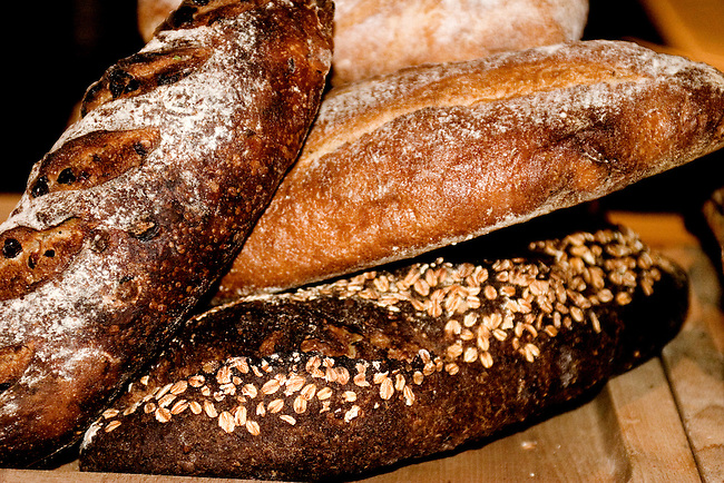 Loaves of Bread, Country Restaurant, New York, New York