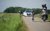 """(eventual stage winner) Sylvain """"La Machine"""" Chavanel (FRA)<br /> <br /> Eneco Tour 2013<br /> stage 5: ITT<br /> Sittard-Geleen 13,2km"""