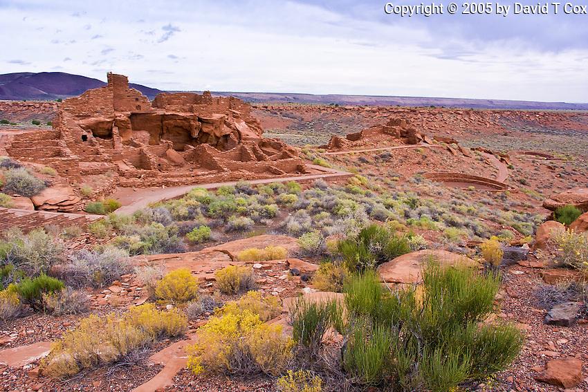 Wupatki, Wupatki Pueblo, Sinaguan 1150-1200, AZ