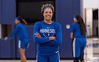 Minneapolis, MN - August 31, 2019:  The USWNT visited the Minnesota Lynx during their training.