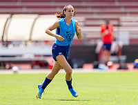 HOUSTON, TX - JUNE 8: Alex Morgan #13 of the USWNT runs during a training session at the University of Houston on June 8, 2021 in Houston, Texas.