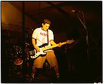 NOFX punk band plays at a concert in Prague, Czech Republic.