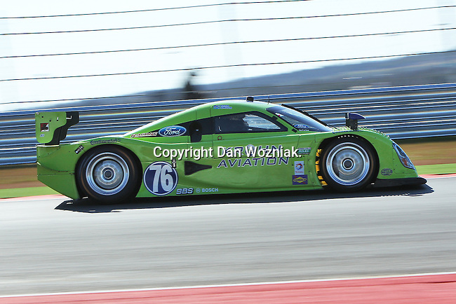 Nic Jonsson (76), Driver of Krohn Racing Ford in action during the Grand Am of the Americas, Rolex race at the Circuit of the Americas race track in Austin,Texas...