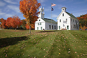 The Congregational Church  & Schoolhouse which is located Washington, New Hampshire USA .Notes:.Washington is the first town incorperated under the name of George Washington plus the meeting house has been in continuous use for over 200 years...