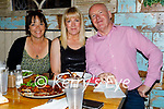 The team of Coachfield Camp enjoying the evening in Molly J's on Friday, l to r: Tommy and Marcella Dowling and Audrey Winters.