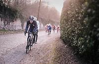 """bike computer says no...""<br /> <br /> 50th GP Samyn 2018<br /> Quaregnon > Dour: 200km (BELGIUM)"