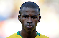 Ramires of Brazil. Brazil defeated USA 3-0 during the FIFA Confederations Cup at Loftus Versfeld Stadium in Tshwane/Pretoria, South Africa on June 18, 2009.