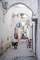 Tunisia.  Tunis Medina.  Street Scene.