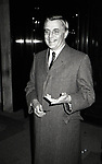 Walter Mondale on February 28, 1981 at the Regency Hotel in New York City.