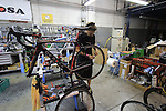 Final assembly Protos bike De Rosa factory, Cusano Milanino, Italy. 30th September 2015.<br /> Picture: Eoin Clarke   Newsfile