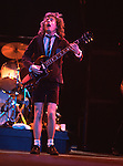AC/DC 1983 Angus Young ..© Chris Walter..