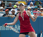 Alize Cornet (FRA) loses to Victoria Azarenka (BLR) 6-7, 6-3, 6-2 at the US Open being played at USTA Billie Jean King National Tennis Center in Flushing, NY on August 31, 2013
