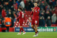 Trent Alexander-Arnold of Liverpool applauds the fans at the end of the UEFA Champions League Quarter Final first leg match between Liverpool and Porto at Anfield on April 9th 2019 in Liverpool, England. (Photo by Daniel Chesterton/phcimages.com)<br /> Foto PHC/Insidefoto <br /> ITALY ONLY