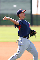Kyle Bellows, Cleveland Indians 2010 minor league spring training..Photo by:  Bill Mitchell/Four Seam Images.
