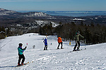 Camden Snow Bowl, a town-owned ski area in Camden, Maine, USA