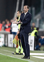 Calcio, Serie A: Torino, Allianz Stadium, 23 settembre 2017. <br /> Juventus' coach Massimiliano Allegri speaks to his players during the Italian Serie A football match between Juventus and Tori0i at Torino's Allianz Stadium, September 23, 2017.<br /> UPDATE IMAGES PRESS/Isabella Bonotto