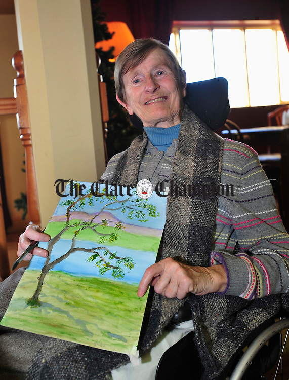 Eileen Malone from Miltown pictured at the launch of the Irish Wheelchair Association's Calendar 2009. Photograph by Declan Monaghan