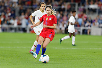 Saint Paul, MN - Tuesday September 03, 2019 : Morgan Brian #6 during a 2019 Victory Tour match between Portugal and the United States at Allianz Field, on September 03, 2019 in Saint Paul, Minnesota.