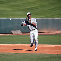 TJ McCants participates in the 2020 MLB Dream Series on January 17-20, 2020 at the Los Angeles Angels training complex in Tempe, Arizona (Bill Mitchell)