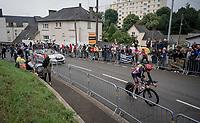 Brent Van Moer (BEL/Lotto Soudal)<br /> <br /> Stage 5 (ITT): Time Trial from Changé to Laval Espace Mayenne (27.2km)<br /> 108th Tour de France 2021 (2.UWT)<br /> <br /> ©kramon