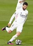 Real Madrid's Nacho Fernandez during UEFA Champions League Semi-finals 1st leg match. April 27,2021.(ALTERPHOTOS/Acero)