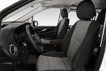 Front seat view of a 2019 Mercedes Benz Vito Base 4 Door Cargo Van front seat car photos