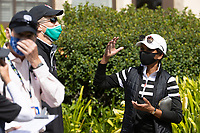 STANFORD, CA - APRIL 24: Condoleezza Rice at Stanford Golf Course on April 24, 2021 in Stanford, California.