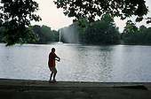 Sunday morning in Victoria Park, Tower Hamlets, London