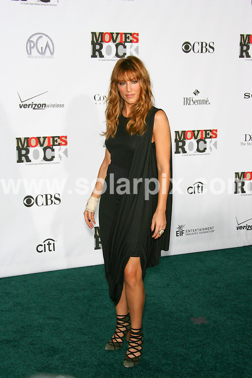 **ALL ROUND PICTURES FROM SOLARPIX.COM**.**SYNDICATION RIGHTS FOR UK AND SPAIN ONLY**.The Nast Media Group Presents 2007 Movie Rocks at the Kodak Theater in Hollywood California in the USA..This pic:Jennifer Esposito.JOB REF:5442-CPR        DATE:02_12_07.**MUST CREDIT SOLARPIX.COM OR DOUBLE FEE WILL BE CHARGED* *UNDER NO CIRCUMSTANCES IS THIS IMAGE TO BE REPRODUCED FOR ANY ONLINE EDITION WITHOUT PRIOR PERMISSION*