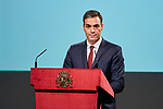 Pedro Sanchez attends to the Reading of the Spanish Constitution for the 40th anniversary of its approval by the Congress at Instituto Cervantes in Madrid, Spain. October 31, 2018. (ALTERPHOTOS/A. Perez Meca)