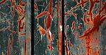 Rail car abstract, Tacoma, Washington