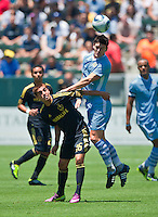 Los Angeles Galaxy vs Manchester City FC July 24 2011