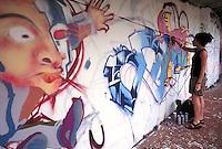 - young writers at Milan periphery....- giovani graffitari alla periferia di Milano