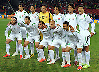 Iraq Starting Eleven. Iraq and New Zealand tied 0-0 during the FIFA Confederations Cup at Ellis Park Stadium in Johannesburg, South Africa on June 20, 2009..
