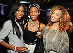 From left: Melondy Collins, Erica Fisher and Jasmine Salinas at the Simon Fashion Now event at the Houston Galleria Thursday Sept. 6,2012.(Dave Rossman photo)