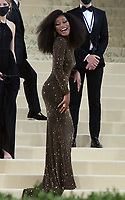 September 13, 2021.Keke Palmer attend The 2021 Met Gala Celebrating In America: A Lexicon Of Fashion at<br /> Metropolitan Museum of Art  in New York September 13, 2021 Credit:RW/MediaPunch