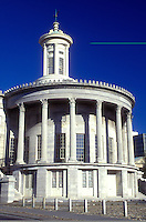 AJ1151, Philadelphia, Pennsylvania, Independence National Historic Park, The Philadelphia (Merchant) Exchange, a 1834 Greek Revival masterpiece, it later housed the Philadelphia Stock Exchange.