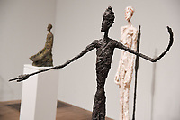 The Tate Modern opens its new exhibition, a retrospective of the artist Alberto Giacometti, London<br /> <br /> ©Ash Knotek  D3262  08/05/2017
