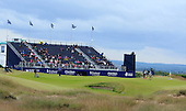 General view of the 18th green during round three of the 2016 Aberdeen Asset Management Scottish Open played at Castle Stuart Golf Golf Links from 7th to 10th July 2016: Picture Stuart Adams, www.golftourimages.com: 09/07/2016