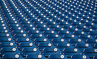 8 June 2013: Rows of seating are ready to welcome fans prior to a game between the Minnesota Twins and the Washington Nationals at Nationals Park in Washington, DC. The Twins edged out the Nationals 4-3 in 11 innings. Mandatory Credit: Ed Wolfstein Photo *** RAW (NEF) Image File Available ***