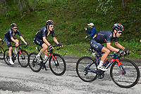 5th June 2021; La Plagne, Tarentaise, France;  PORTE Richie (AUS) of INEOS GRENADIERS, THOMAS Geraint (GBR) of INEOS GRENADIERS and GEOGHEGAN HART Tao (GBR) of INEOS GRENADIERS in action during stage 7 of the 73th edition of the 2021 Criterium du Dauphine Libere cycling race, a stage of 171km with start in Saint-Martin-Le-Vinoux and finish in La Plagne