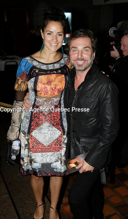 Montreal (Qc) CANADA - Sept 14, 2008 - <br /> <br /> Christian Begin (R)<br /> <br /> 2008 Gemeaux Gala rewarding French-Canadian television.