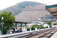 train station pinhao douro portugal