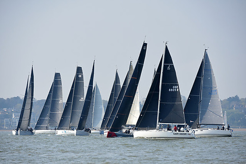 58 entries including 29 IRC Two-Handed teams racing overnight for the first time this year