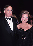 Blaine Trump and Robert Trump on April 1, 1988 in New York City.