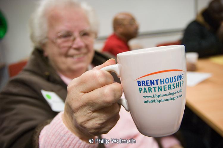 Brent Housing Partnership residents at Chancel House
