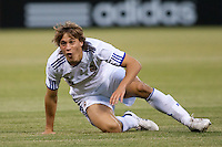 Sergio Canales. Real Madrid defeated Club America 3-2 at Candlestick Park in San Francisco, California on August 4th, 2010.